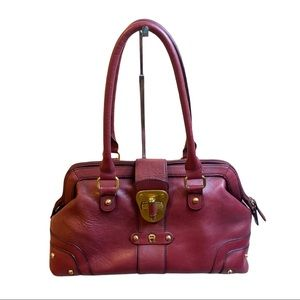 Etienne Aigner Red Leather Purse
